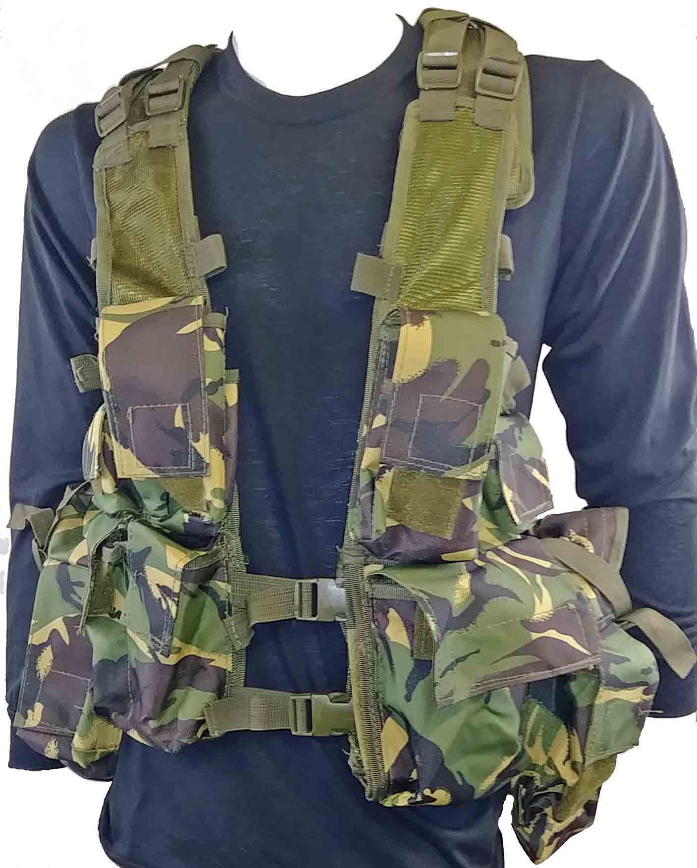U.K camo tactical vest