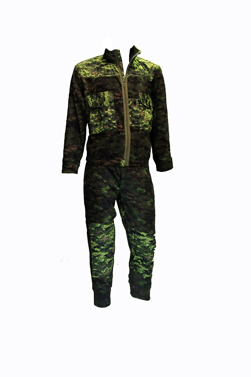 digital fleece suit