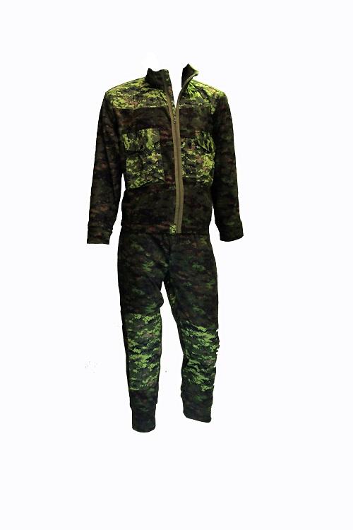 Canadian digital fleece suit