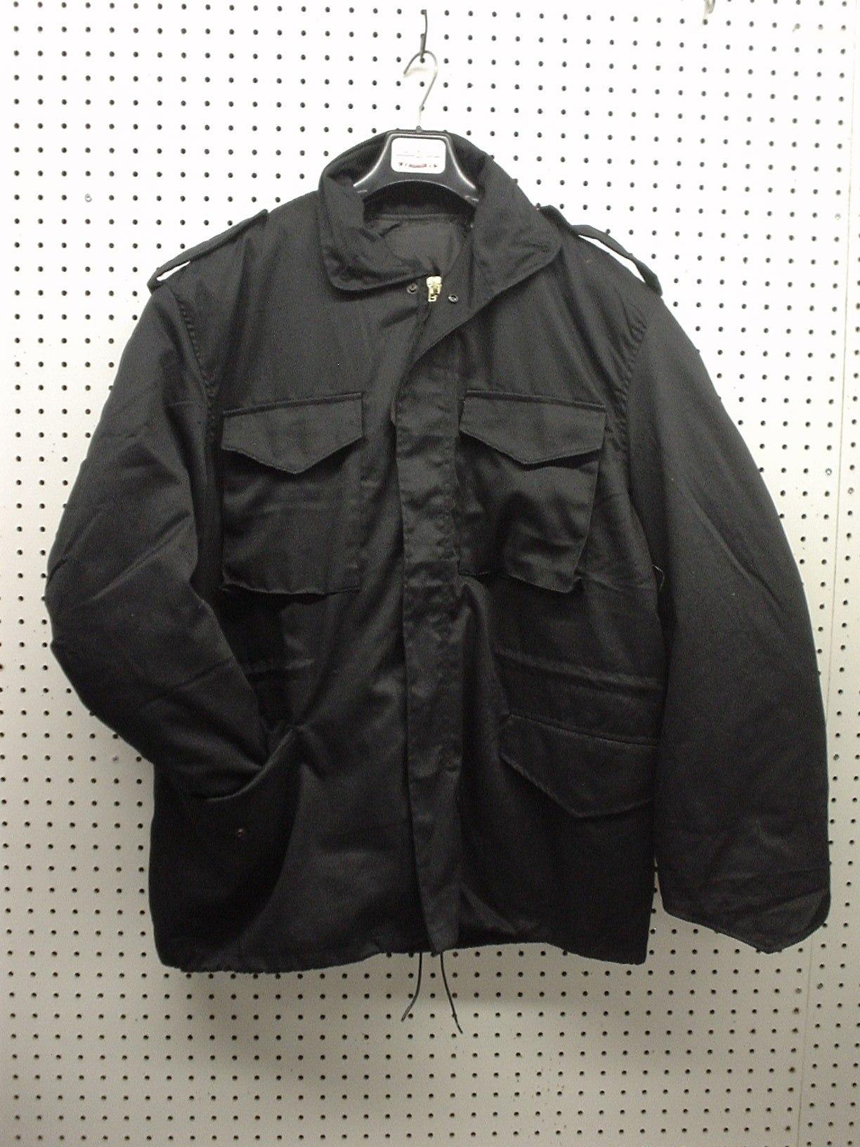 Black M-65 jacket