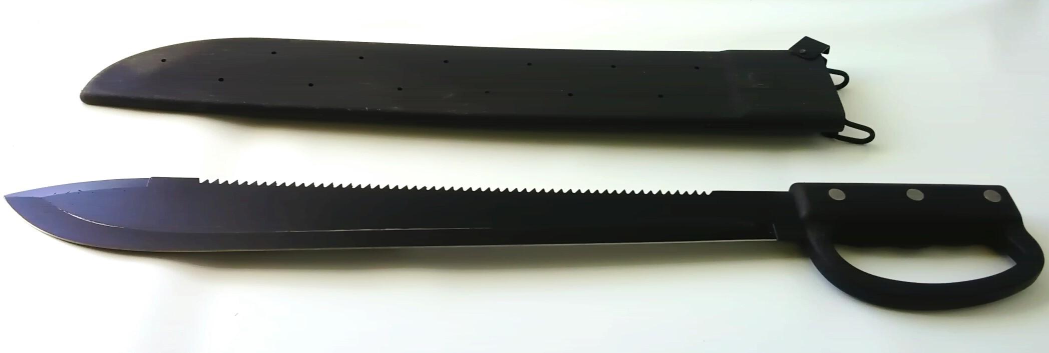 U.S. style machete with hand guard (12020)