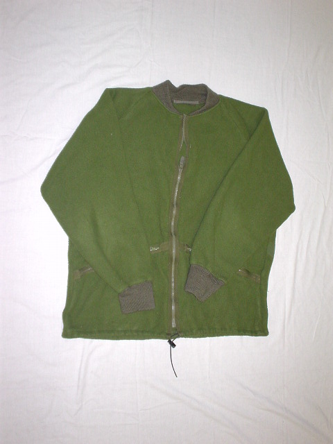 British fleece combat jacket