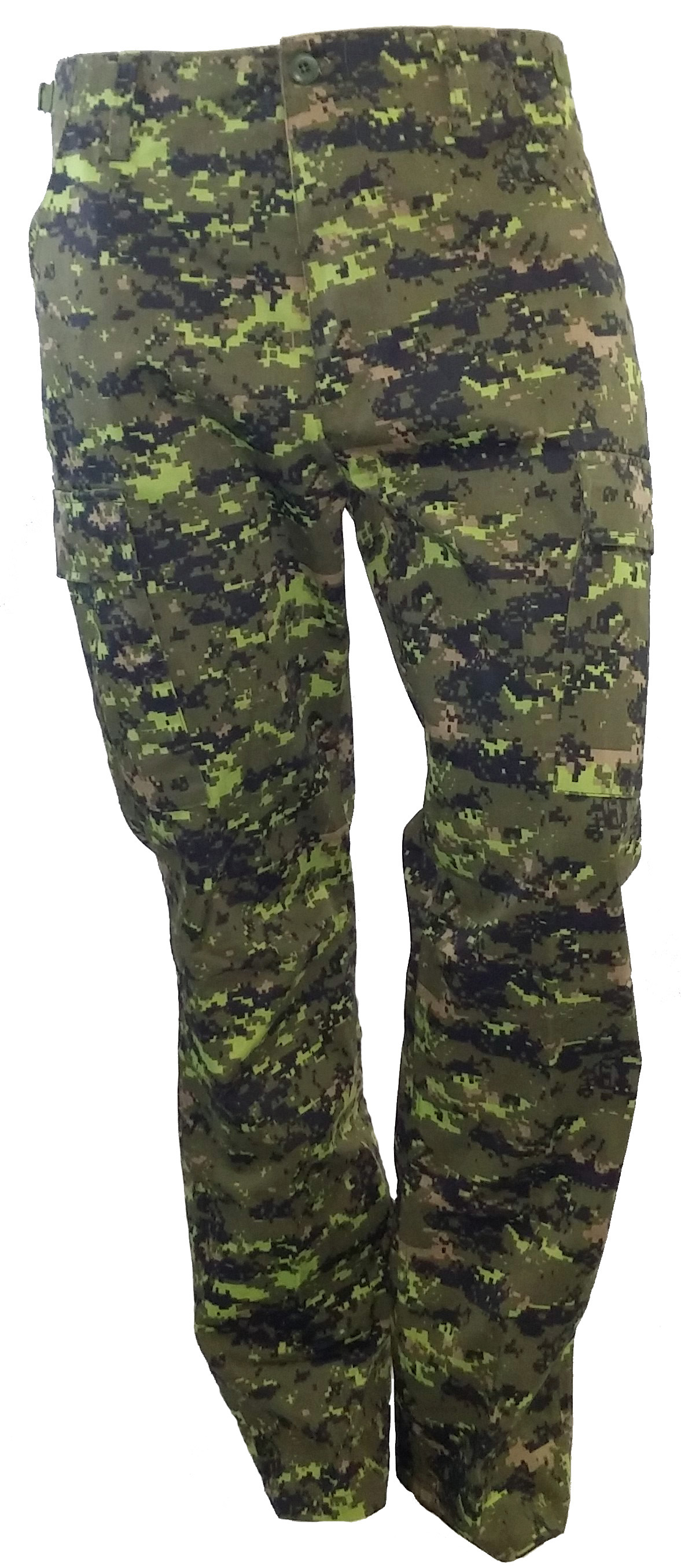 BDU army style pants Canadian digital camo