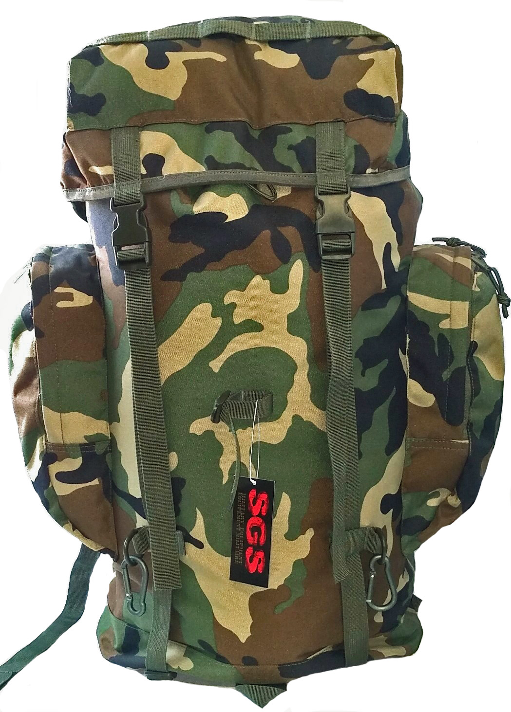 SGS Sac à dos camouflage de 65 litres