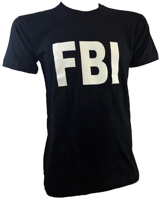 T-SHIRT AVEC LOGO FBI