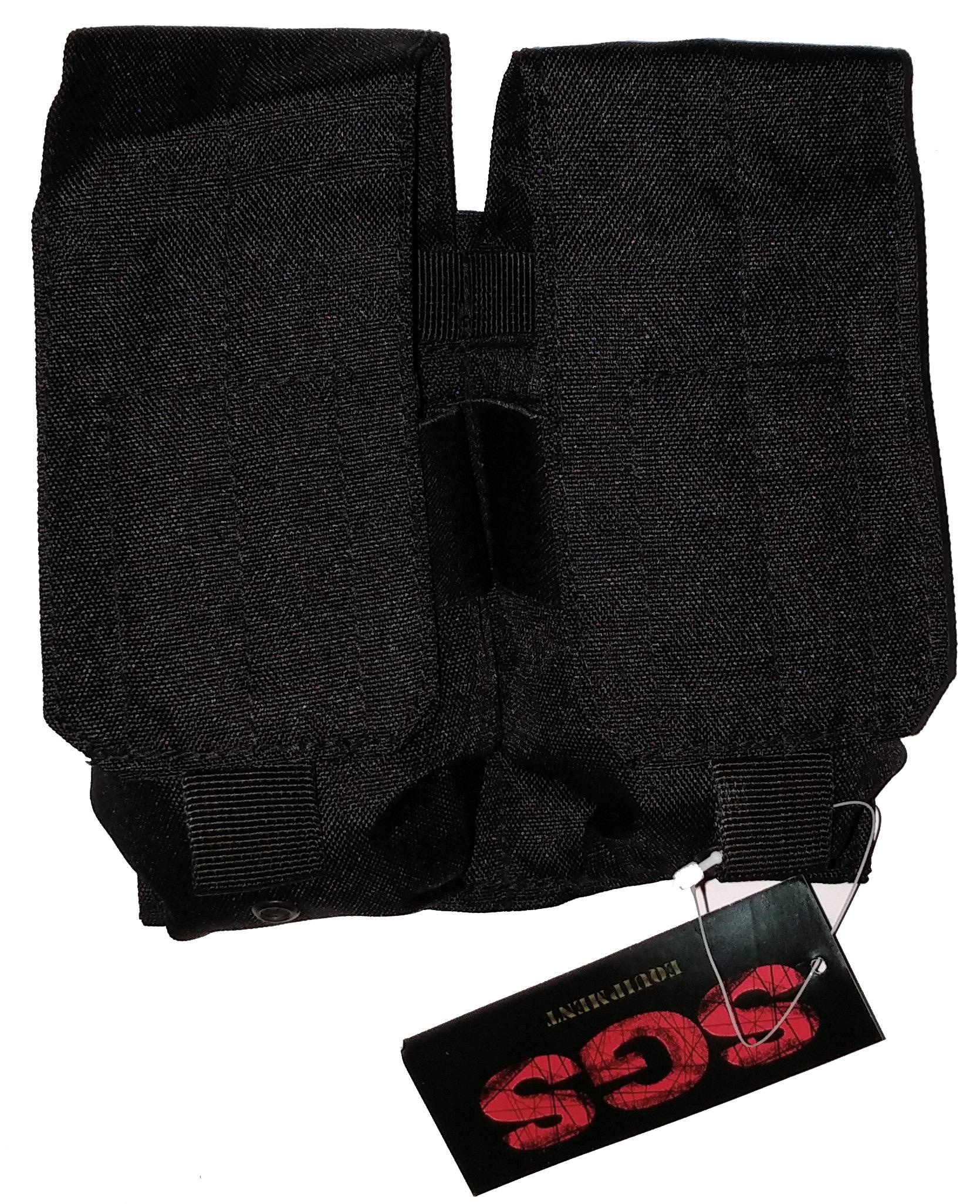 Black magazine pouch