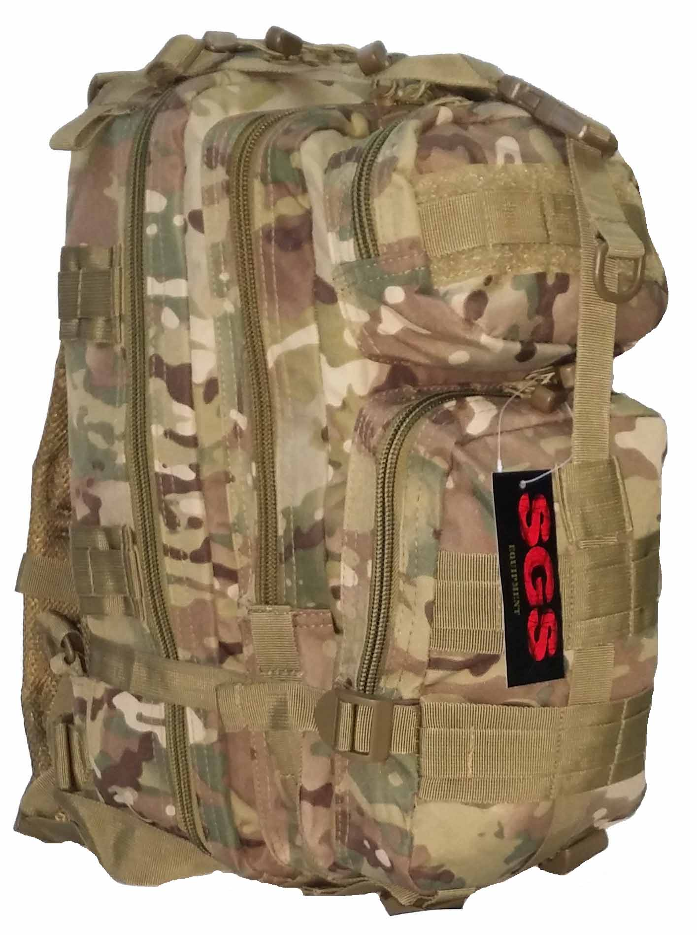 SGS Sac d'assaut tactique multicam