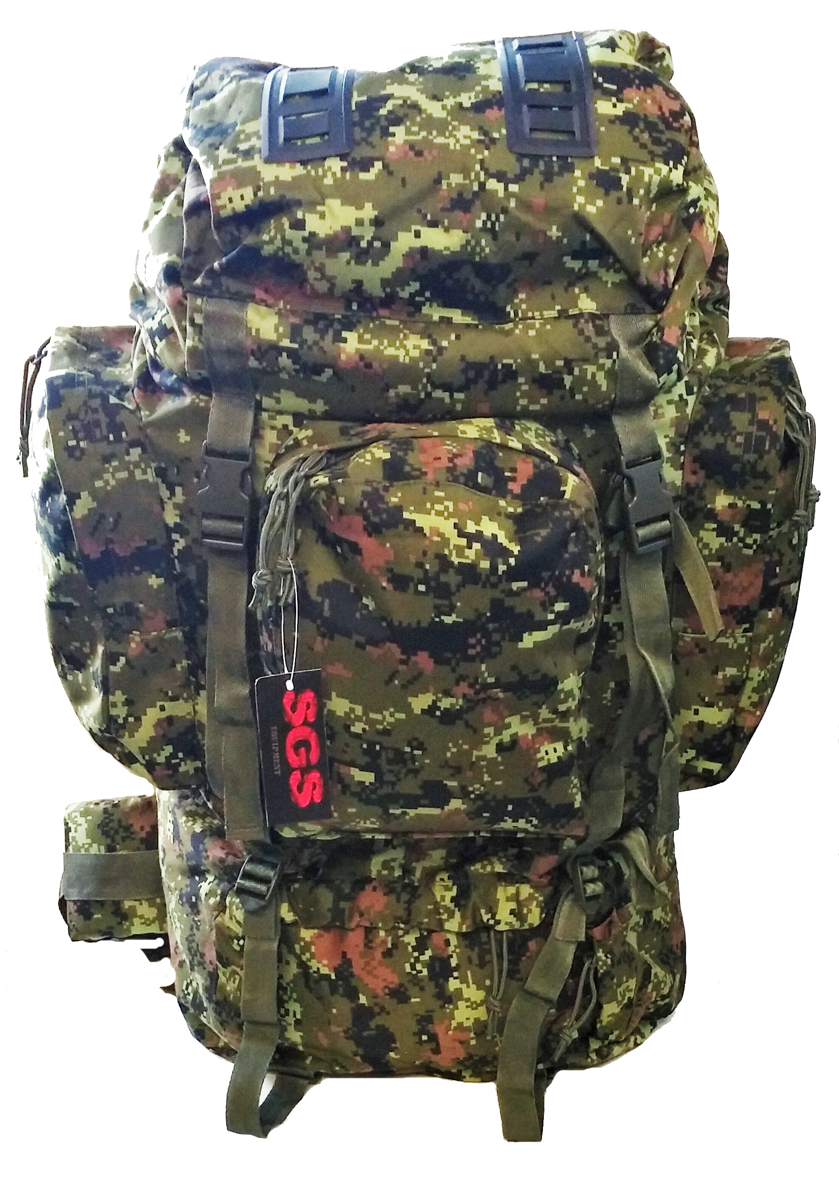Canadian digital combat rack sack