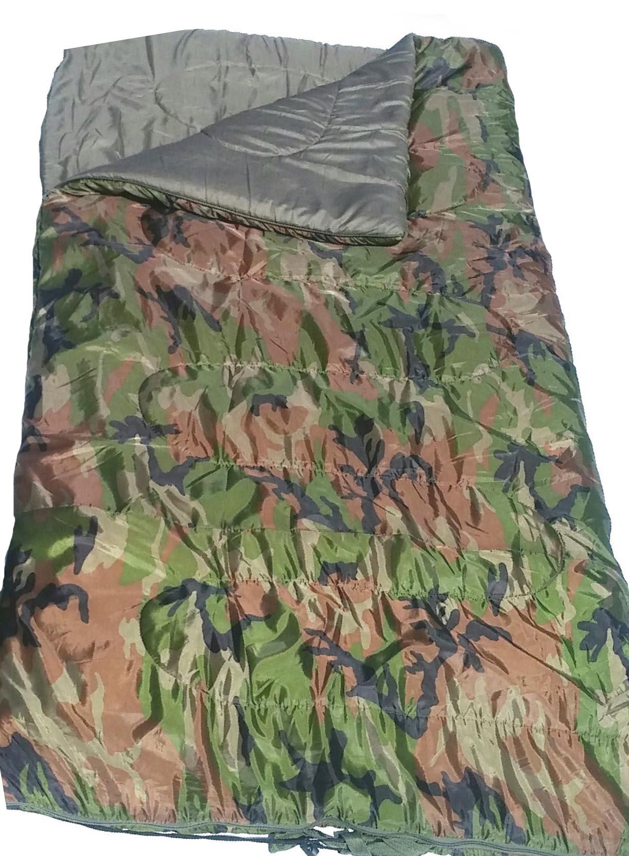 Sac de couchage camouflage