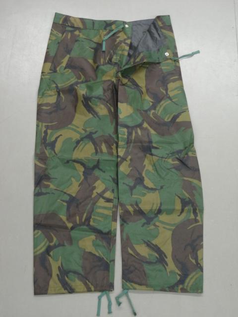 British Waterproof DPM pants.