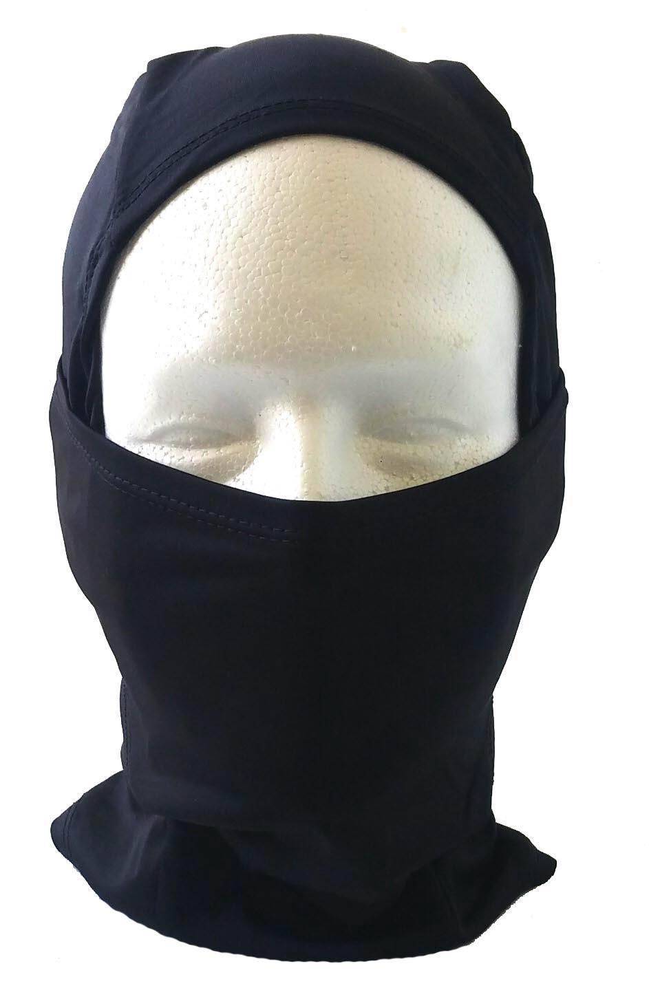 Ninja style balaclava-Black