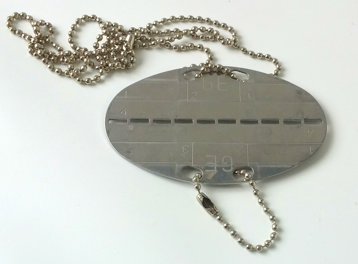 Swiss dog tag
