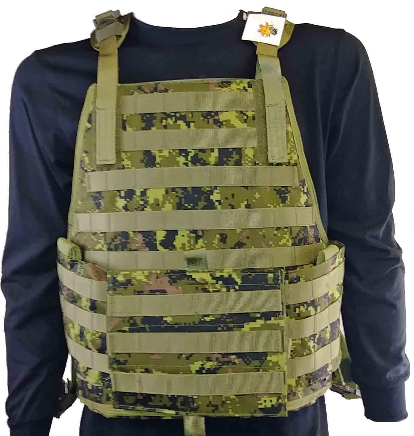 """Molle system"" Canadian digital tactical vest"
