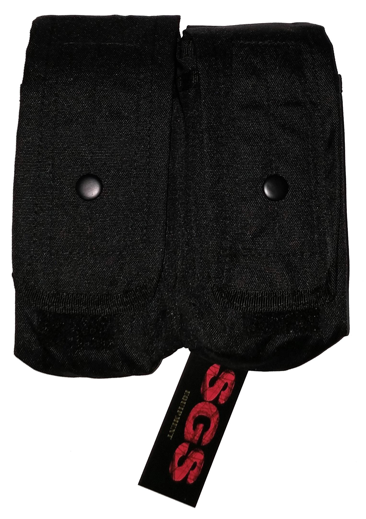 Black duel pouch