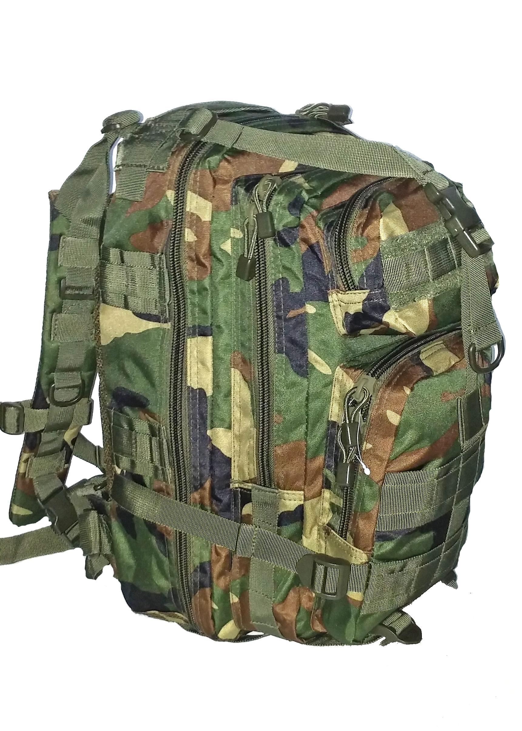 SGS Sac d'assaut tactique camouflage