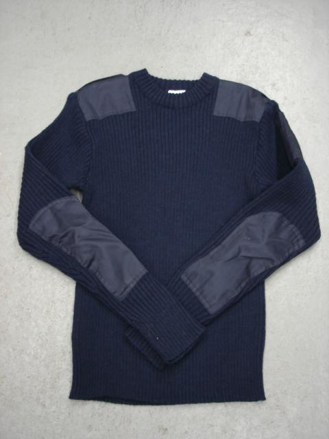 SGS Chandail de laine bleu marine