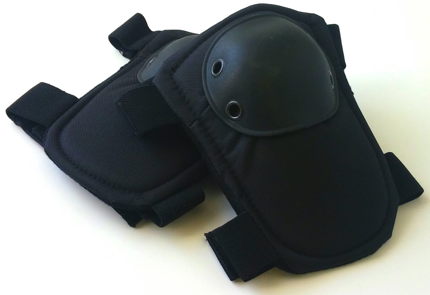 Black tactical elbow pads