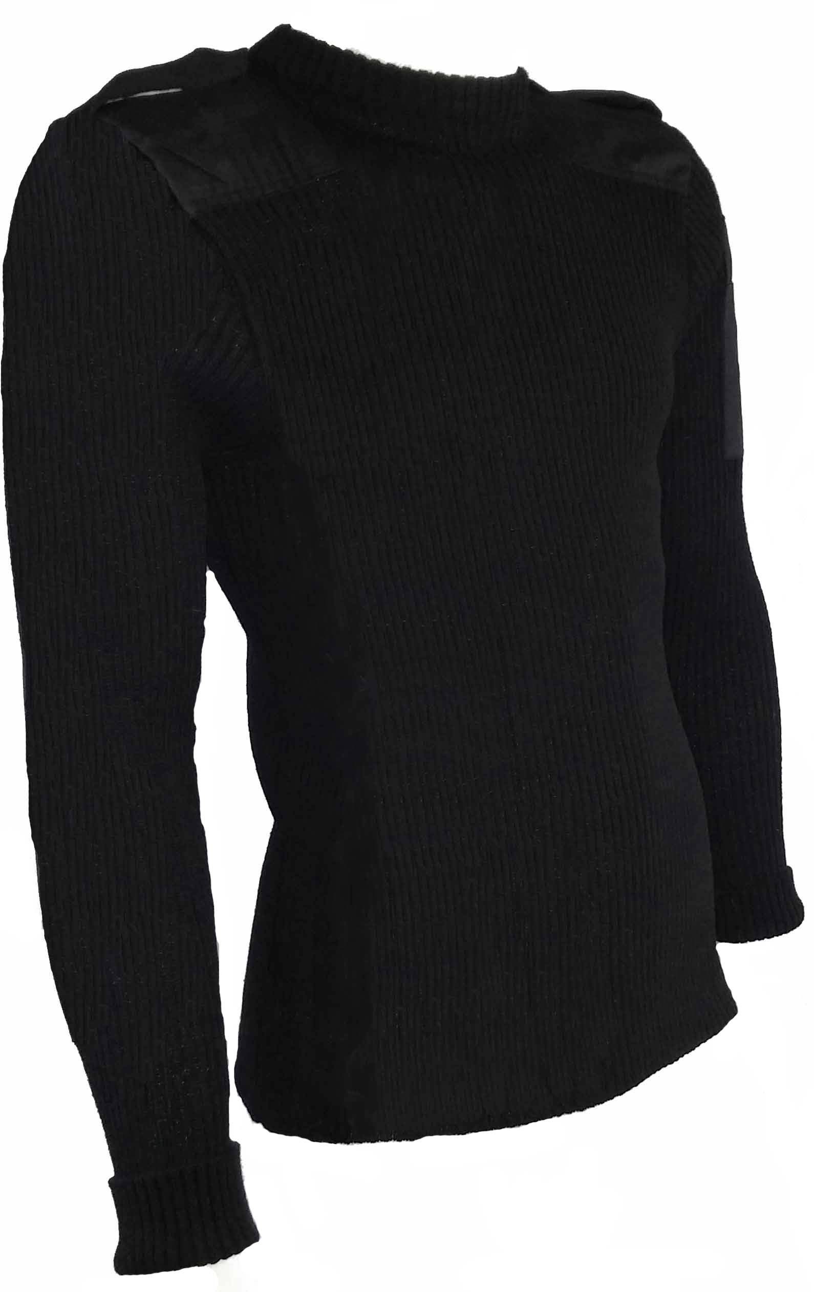 SGS Chandail de laine noir