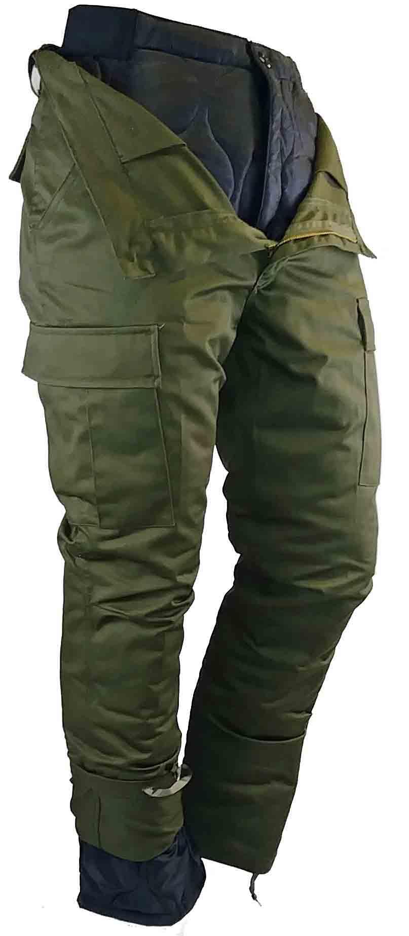Pantalon de combat doublé. Olive drab