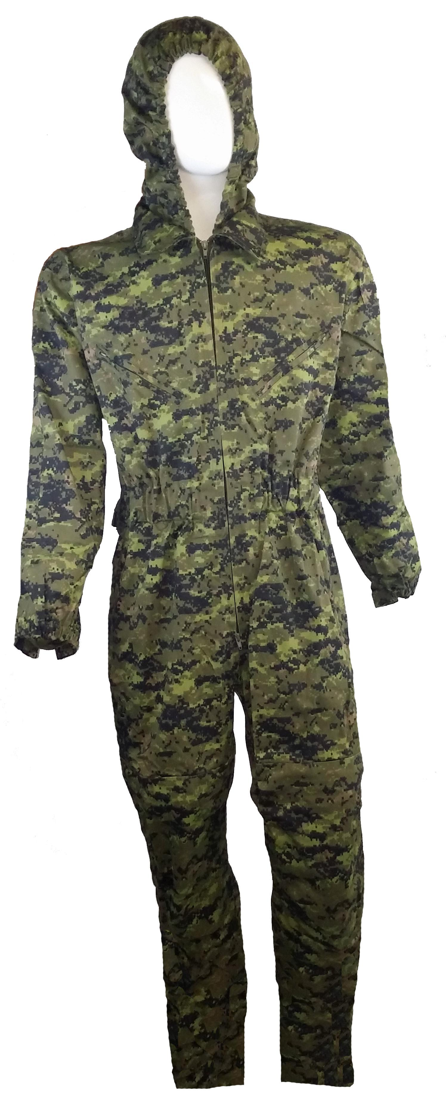 SGS Canadian digital coverall