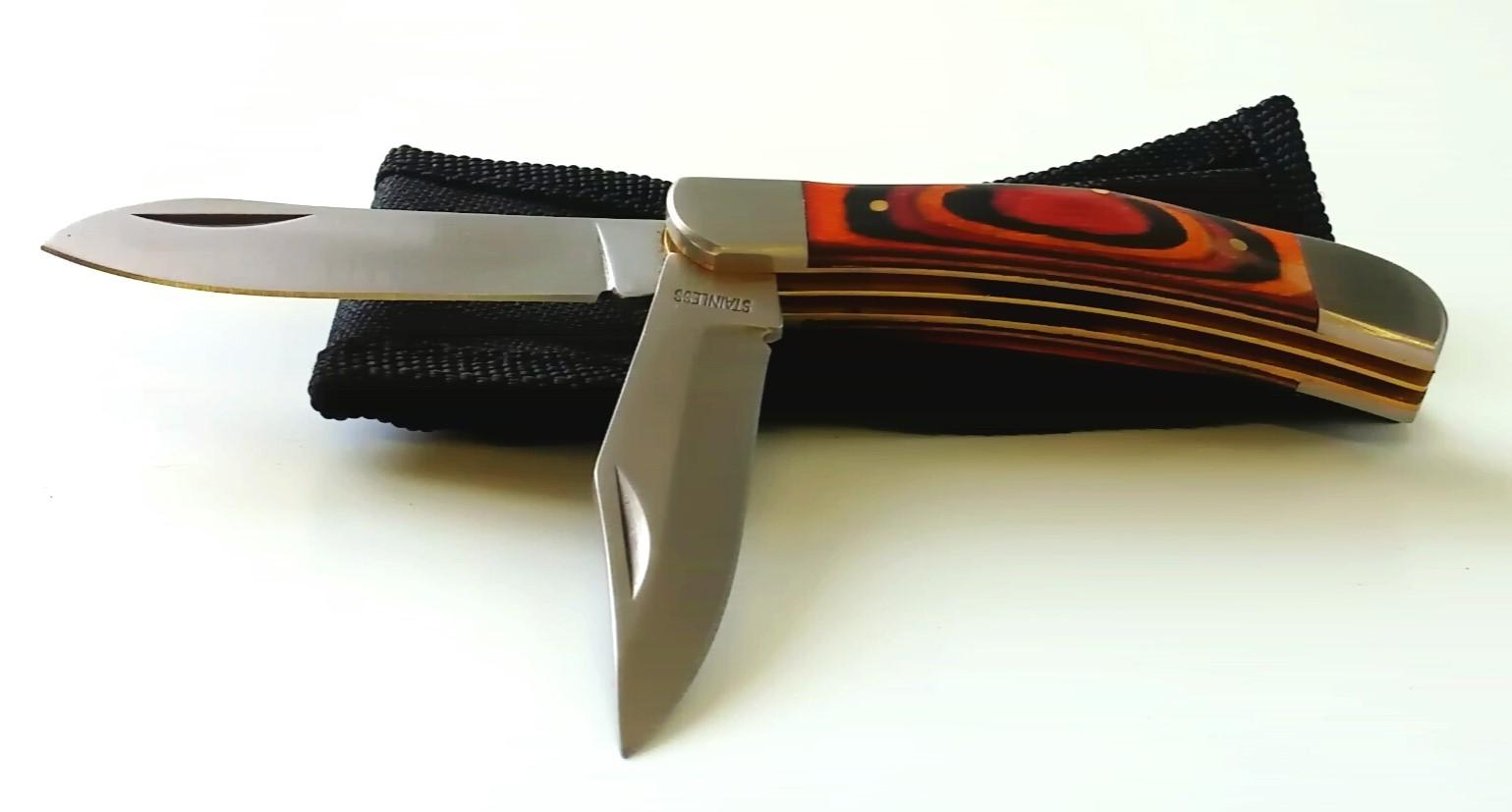 Couteau pliant style K2101F