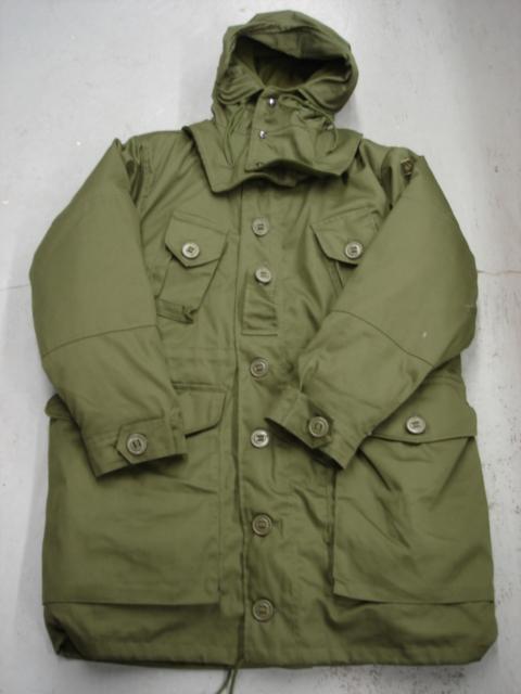 Manteau de style militaire Canadien Kaki