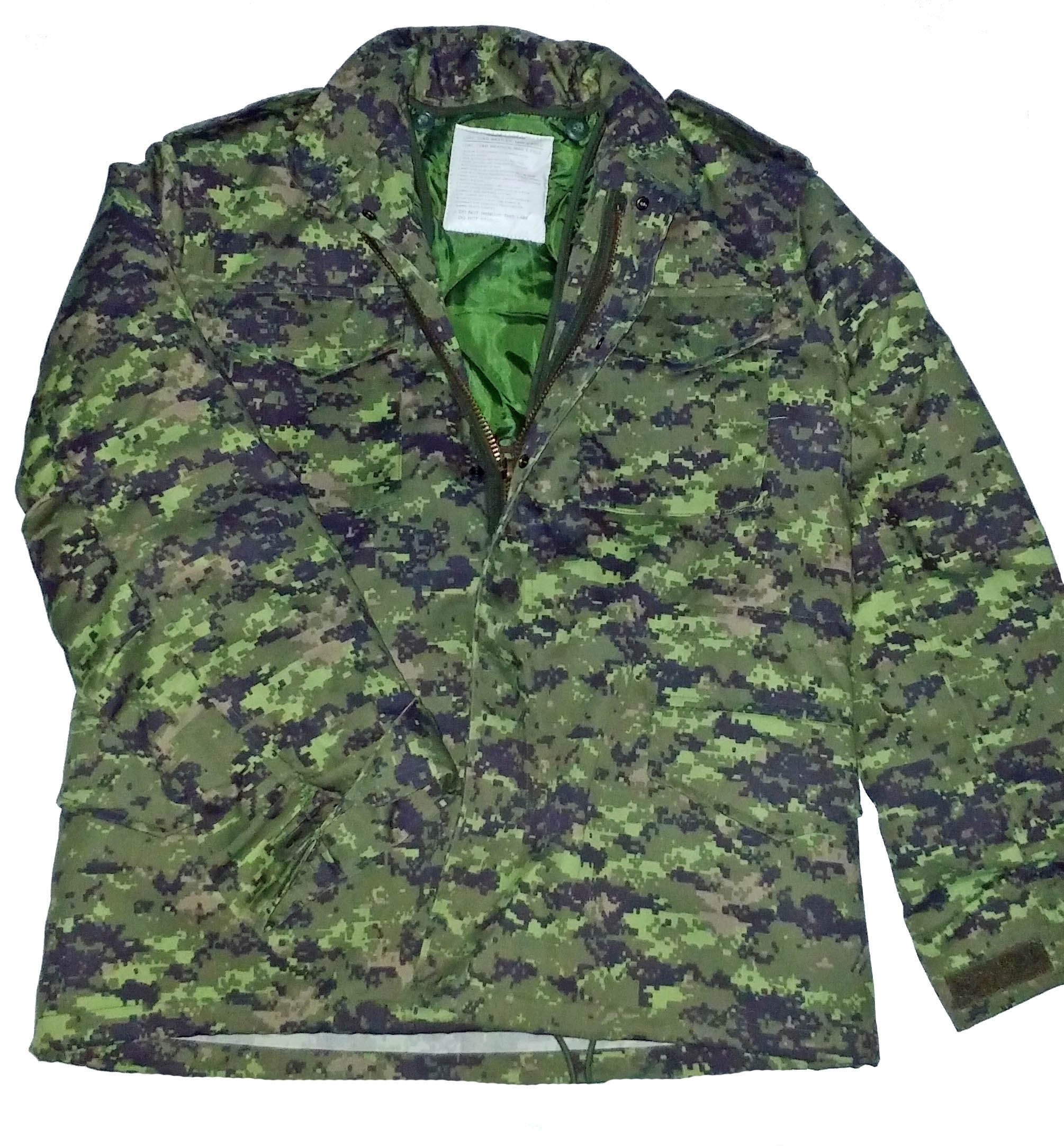 Canadian digital M-65 jacket