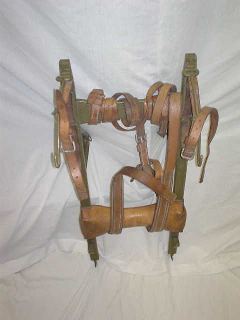 Vintage Swiss wooden rack