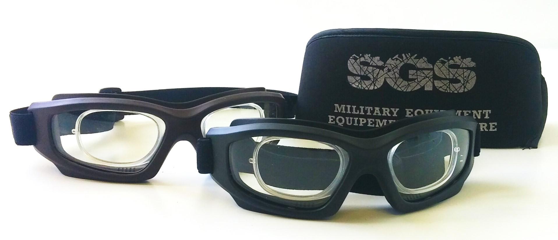 Lunettes de protection militaires