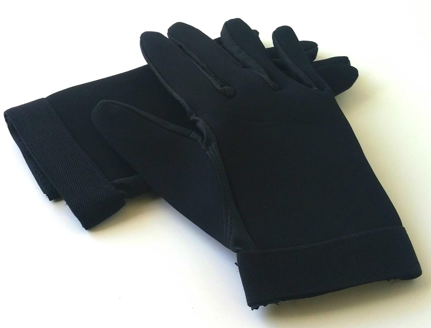 Neoprene combat gloves Black
