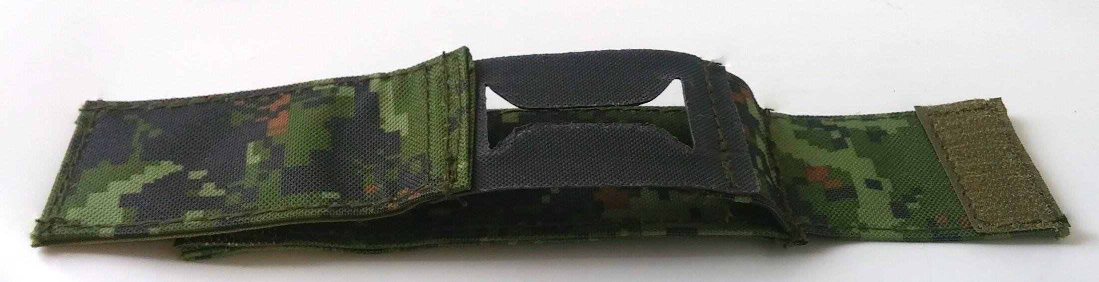 Canadian digital watch strap