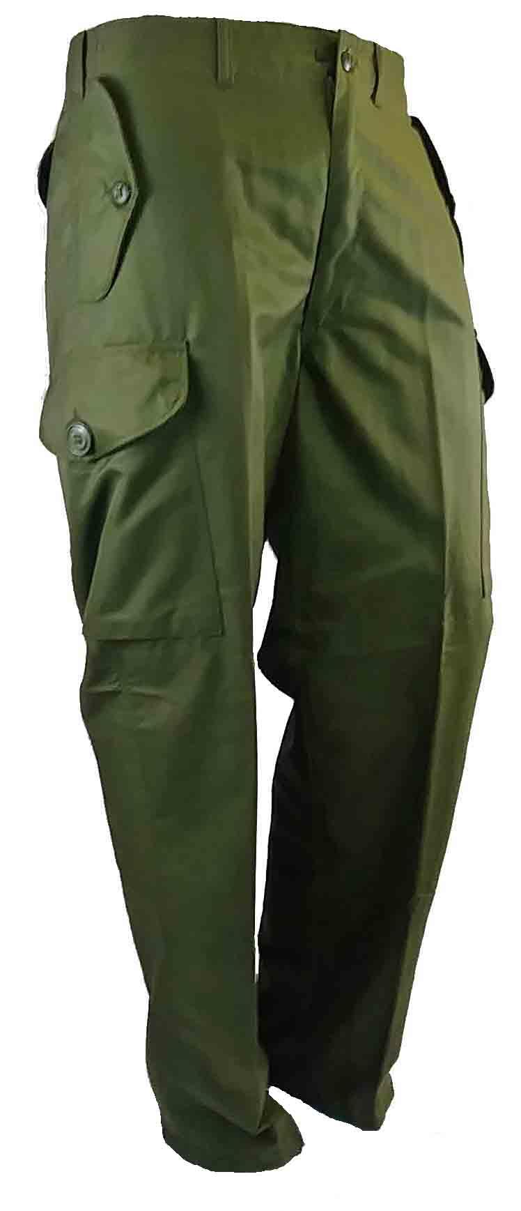 Pantalon coupe-vent de style combat.
