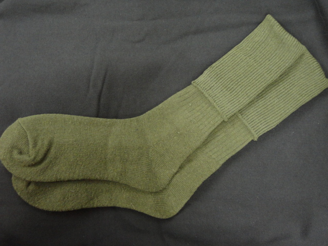 USA style socks wool and polyester