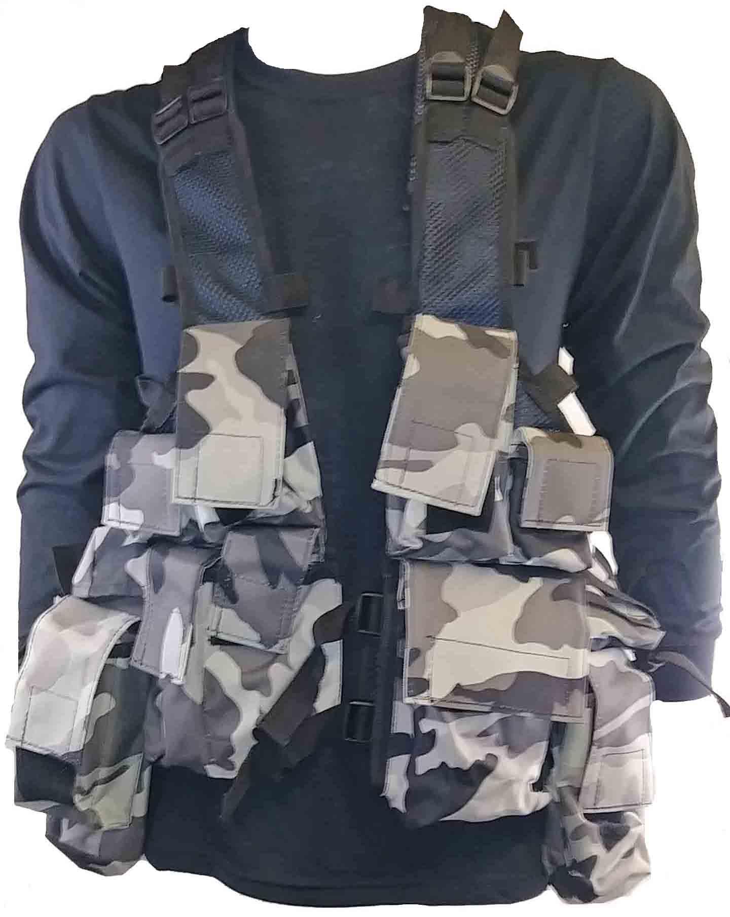 Night urban tactical vest