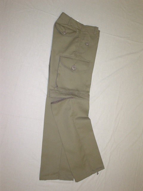 TAUPE CONVERTIBLE COMBAT STYLE PANT