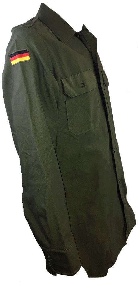 German olive drab dress shirt