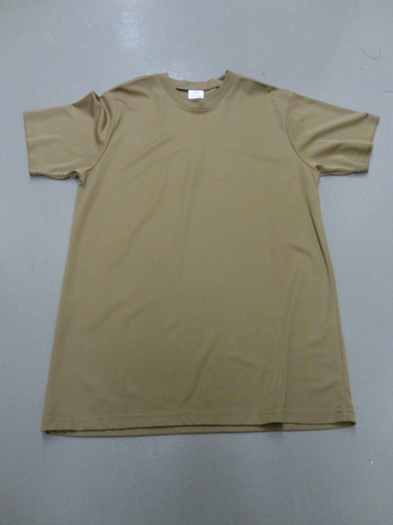SGS t-shirt anti humidité coyote