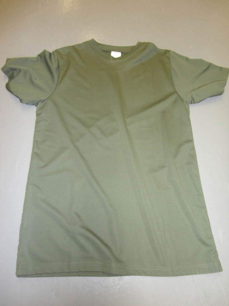 SGS humidity control olive drab t-shirt