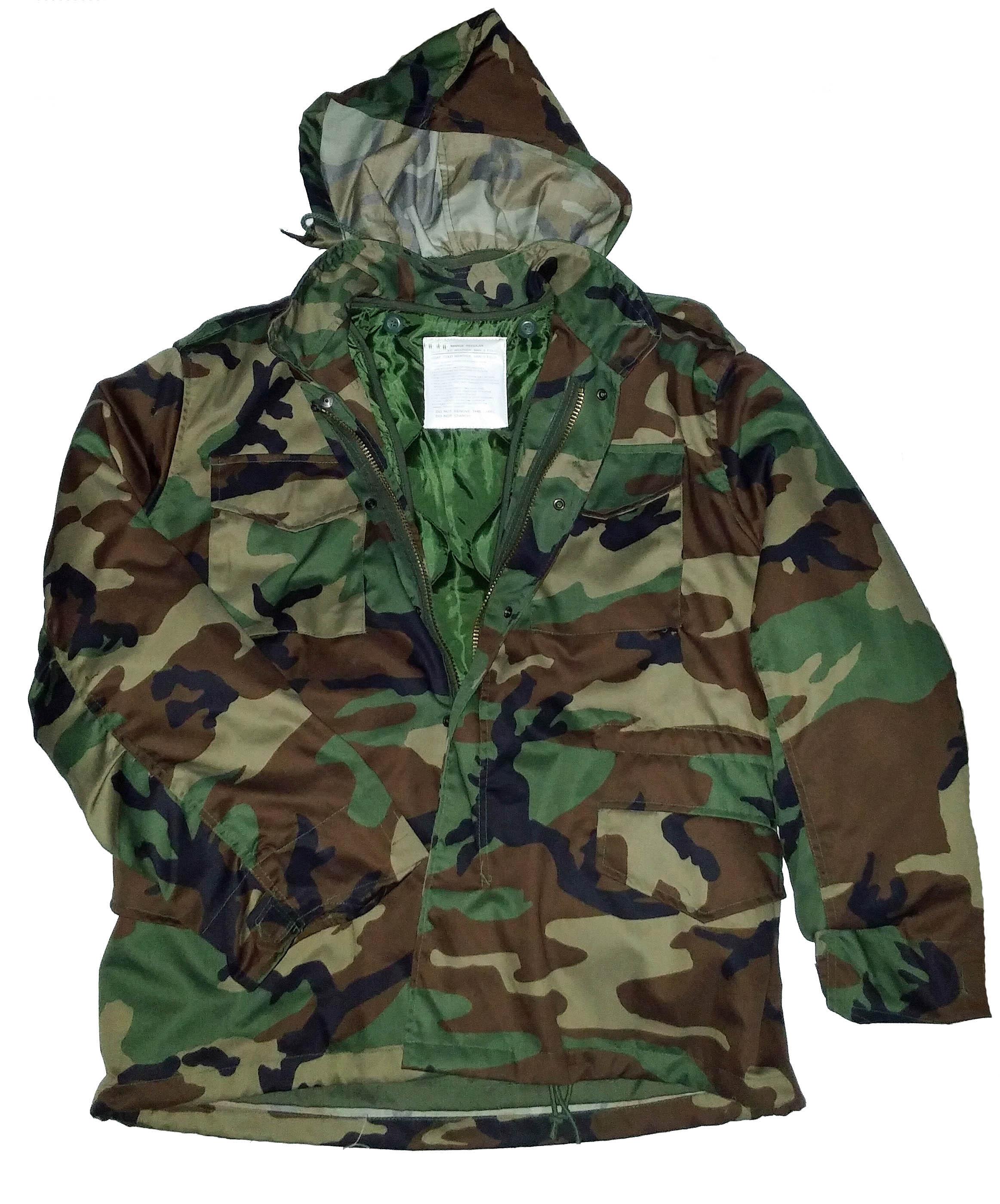 Manteau M-65 camouflage