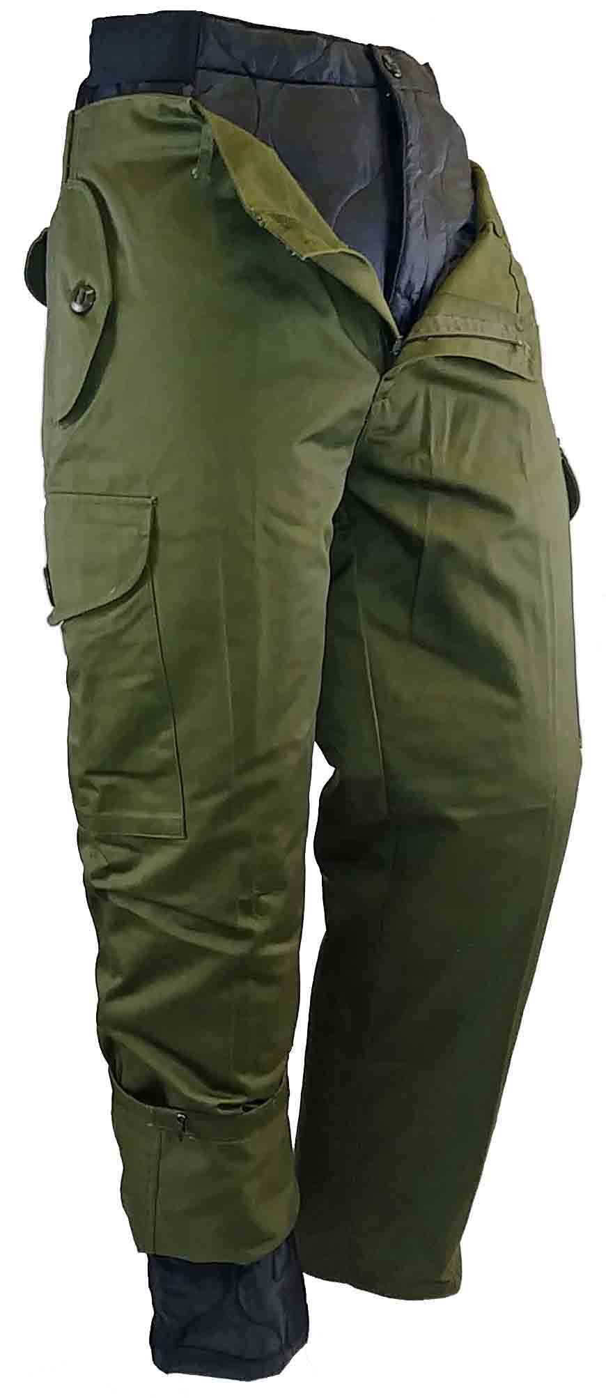 OLIVE DRAB COMBAT STYLE WINTER PANT