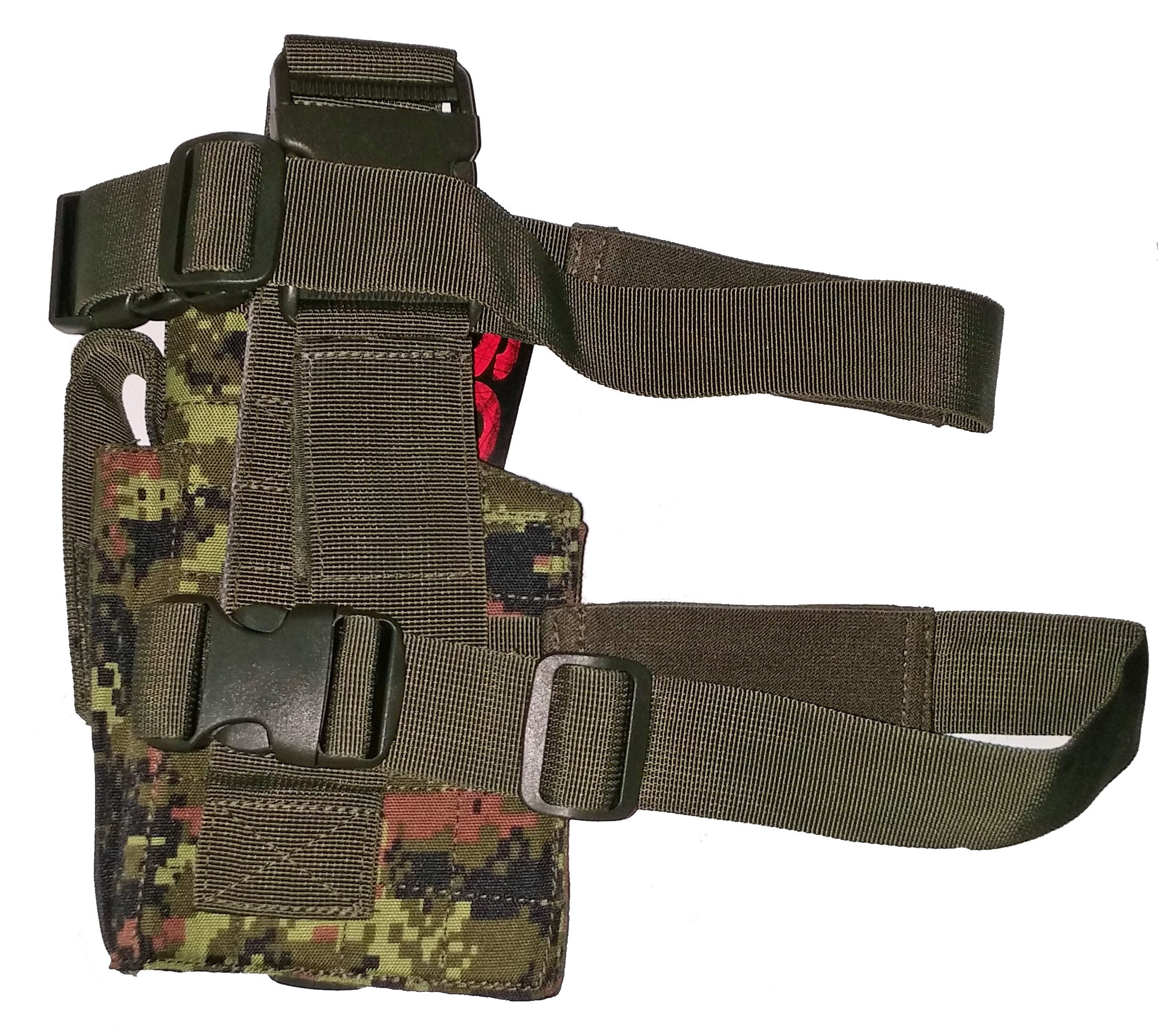 Canadian digital tactical leg holster