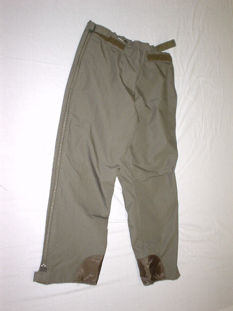 German winter zippers pants