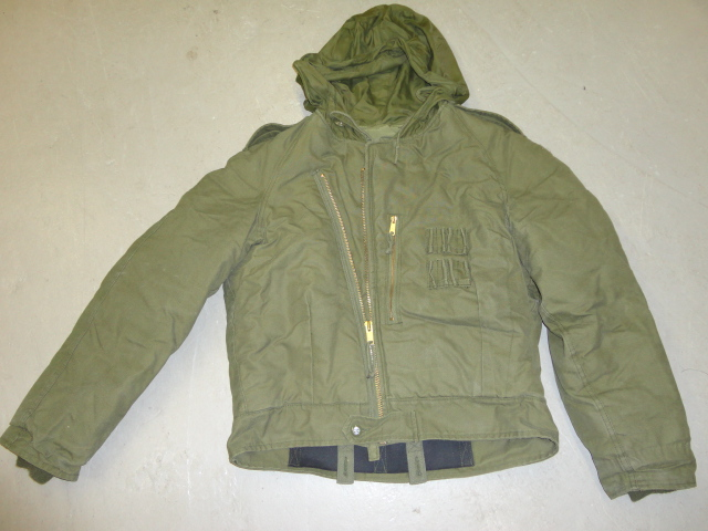 MAN'S COLD WEATHER AFV CREWS LARGE USED JACKET