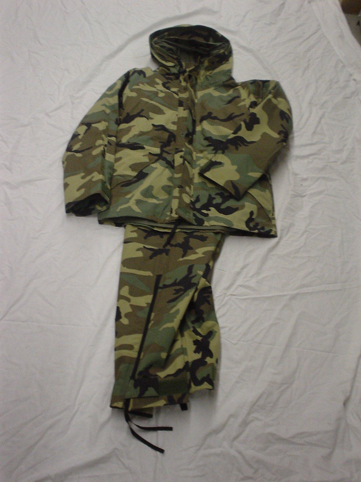 Woodland combat breathtex suit(GORETEX)