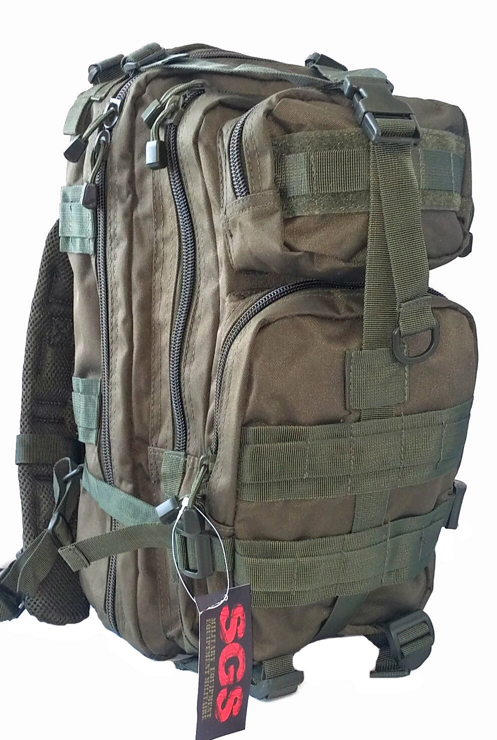 SGS Olive drab tactical assault pack