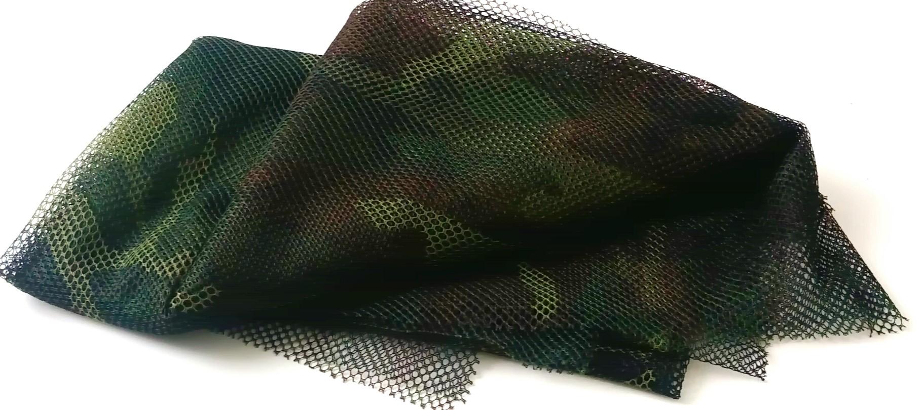 U.S. sniper camouflage netting