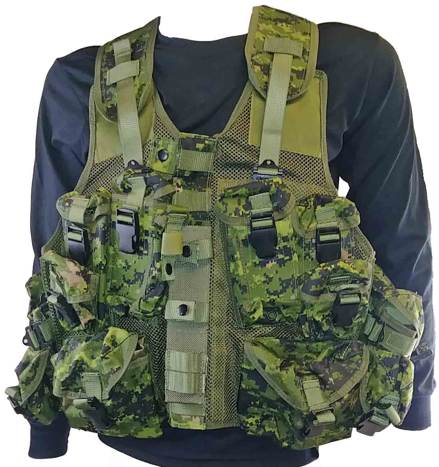 Tactical vest Canadian army style