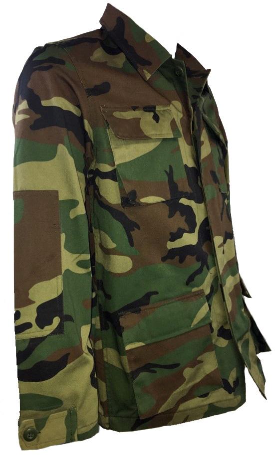 SGS woodland combat style shirt