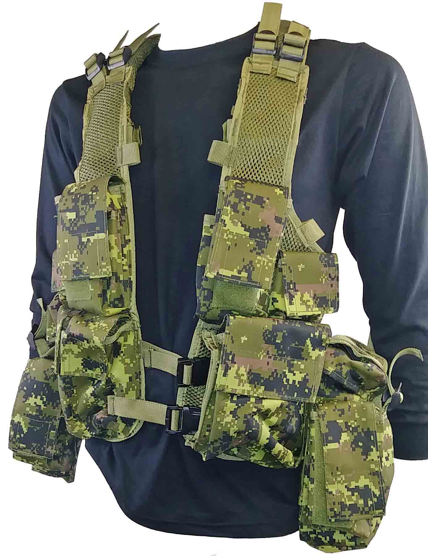 Canadian digital tactical vest