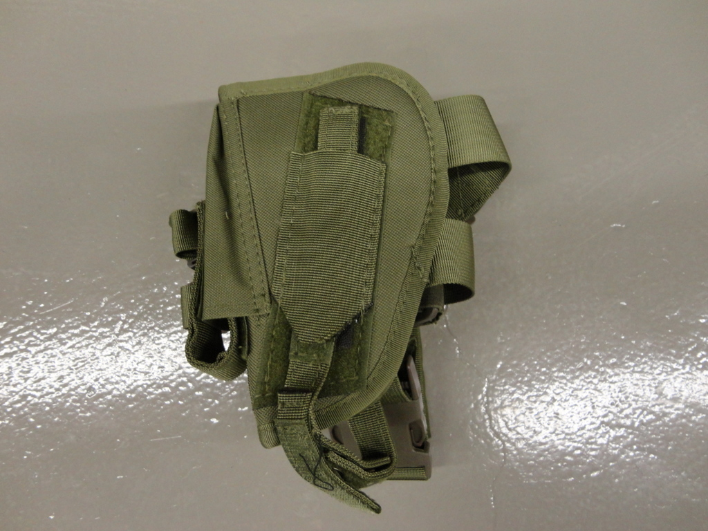 Olive drab tactical leg holster